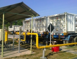 bawean cng daughter station