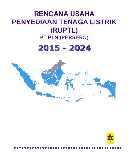 RUPTL 2015-2024 cover